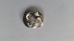 Hummingbird pendant - silver